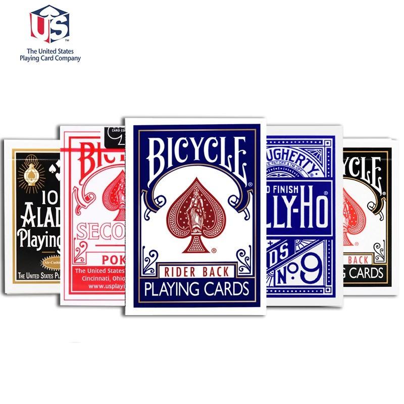 Bộ Bài tây Bicycle Rider Back – Standard – Tally ho – TCC – Aladdin dùng chơi ảo thuật bài -hàng USA CHÍNH HÃNG 100%