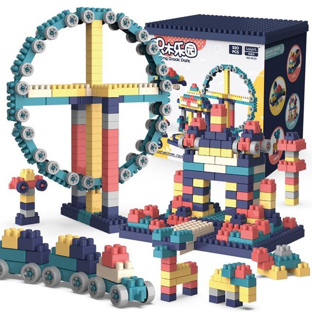 Bộ đồ chơi lắp ráp 360 chi tiết có hộp kèm hướn
