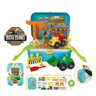 ( SALE KỊCH SÀN) Bộ đồ chơi nhập vai BOWA 8018 - Vali xây dựng 48 chi tiết