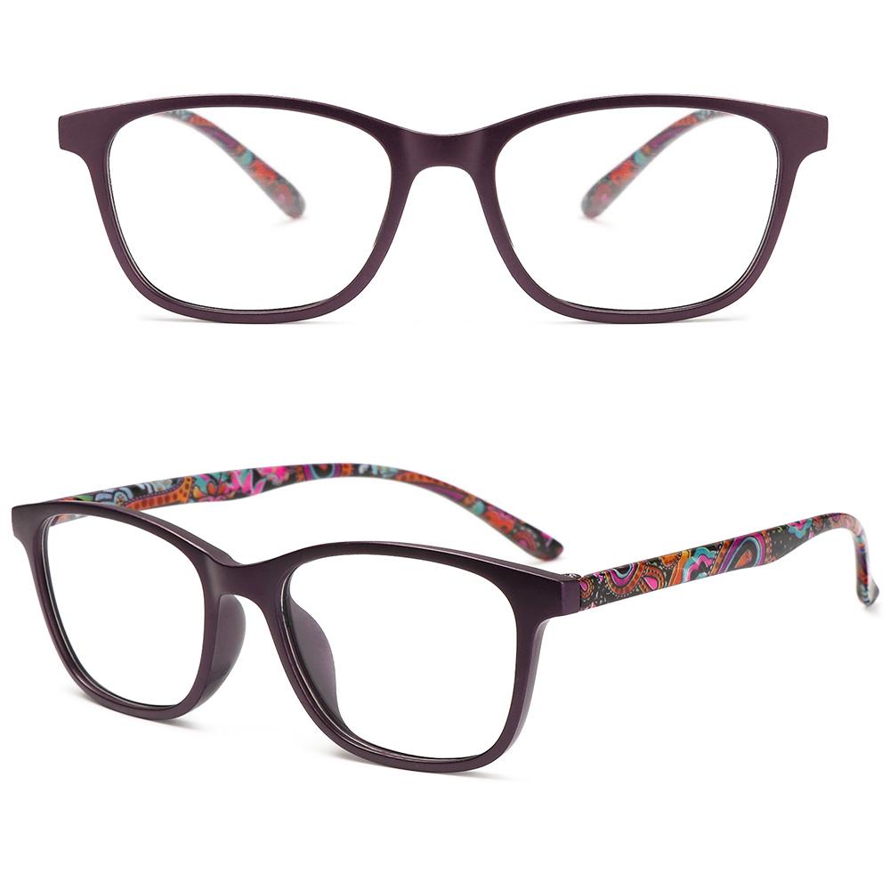 💜LAYOR💜 Women Optical Eyewear Vision Care Presbyopia Eyeglasses Anti-blue Light Glasses Fashion Classic Retro Vintage Computer Goggles/Multicolor