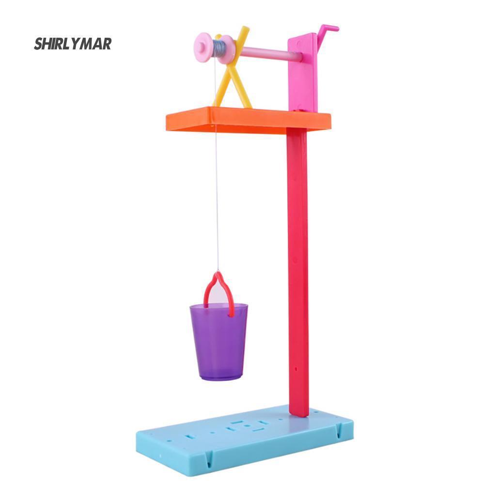 ஐSr DIY Assembly Roller Wells Model Kit Physical Experiment Educational Kids Toy