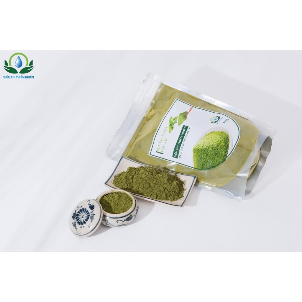 [SP CAO CẤP] -  Bột trà xanh nguyên chất mộc sắc 100g