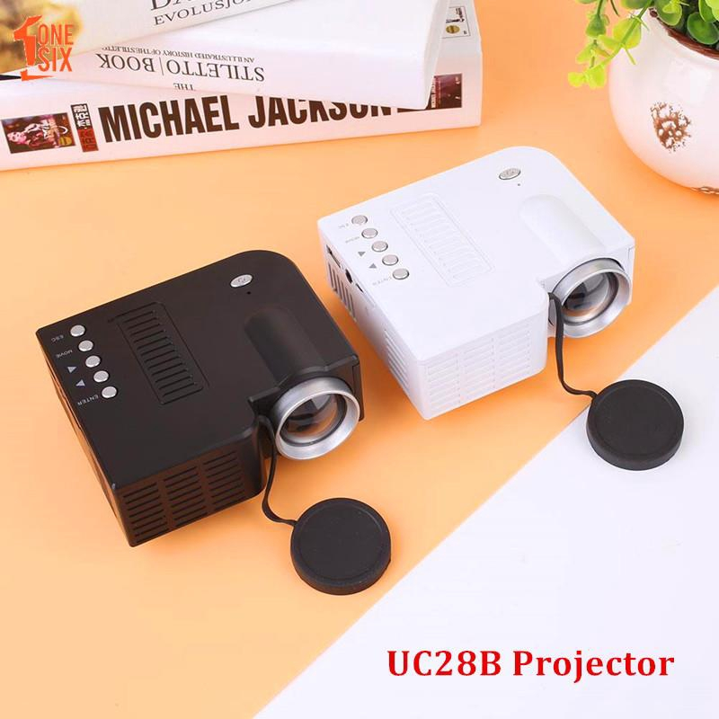 ONE❤ UC28B Projector LED Projector Factory Courtyard Video Projector 4: 3/16: 9