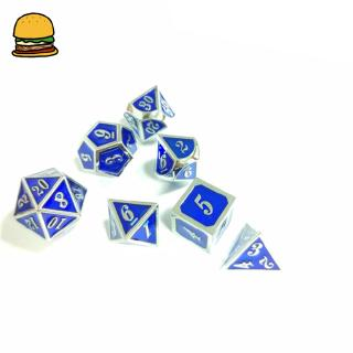 Creative Multifaceted Dice Special-shaped Enamel Dice Game Toys