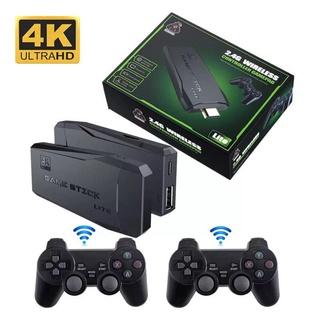 Game stick 4k, Máy chơi game 4 nút, Máy chơi game cầm tay không dây HDMI PS3000 thumbnail