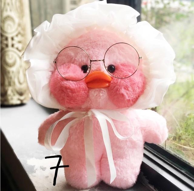 Có sẵn - gấu bông vịt má hồng