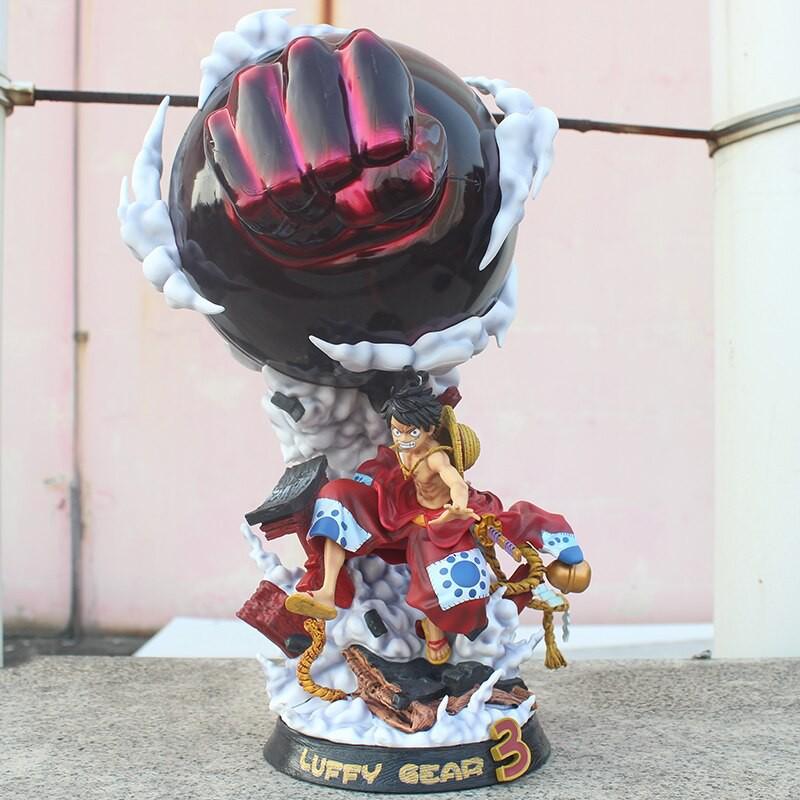 9F Mô hình Figure Luffy Gear 3 Wano Ver – One Piece | Shopee Việt Nam