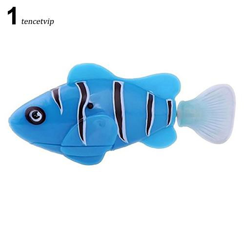 〖MO〗Cute Electronic Pets Toy Fish Tank Robot Fish Swimming Clownfish Children Gifts
