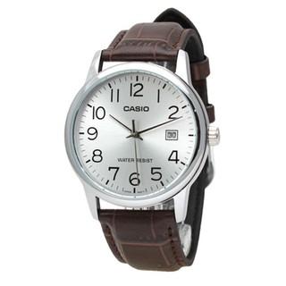Đồng hồ nam dây da Casio Standard chính hãng Anh Khuê MTP-V002L-7B2UDF
