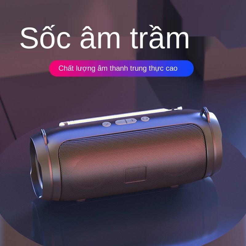 Loa Bluetooth, siêu trầm nhỏ, đài âm thanh khiêu vũ ngoài trời vuông lượng lớn không dây mini, phát sóng bộ sưu t