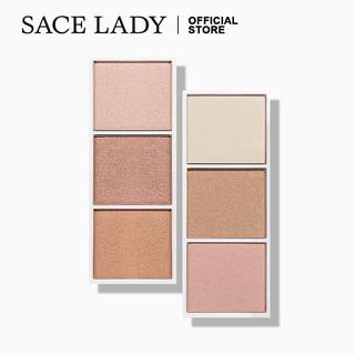Bảng phấn tạo khối SACE LADY 3 màu chuyên dụng cho trang điểm thumbnail