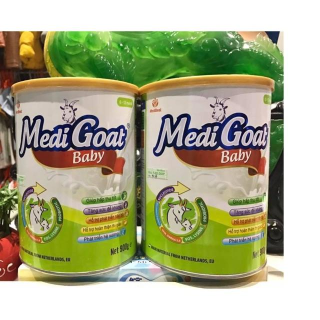 Sữa medigoat baby 900g cho bé 0-12 tháng date mới