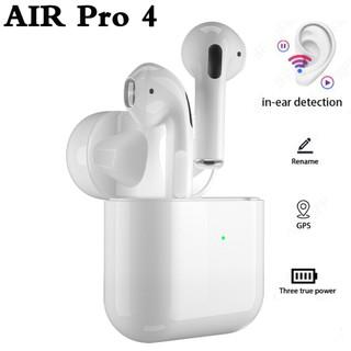 Tai Nghe Airpod Pro 4 Phiên Bản Nâng Cấp, Màng Đen Chất Lượng, Âm Thanh Cực Đỉnh, Dung Lượng Pin Khủng