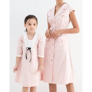 DIDO - Váy Cổ Phối Trắng Bé Gái thumbnail