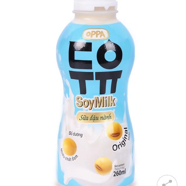 Sữa Đậu Nành Oppa Original Chai 260 ML nhập khẩu