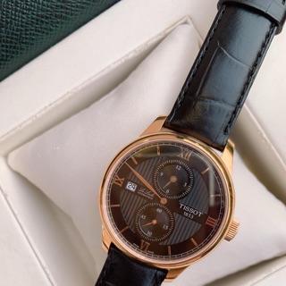 Đồng hồ nam TIS.SOT lelocle REGULATEUR Cafe MODEL: T006.428.36.058.02