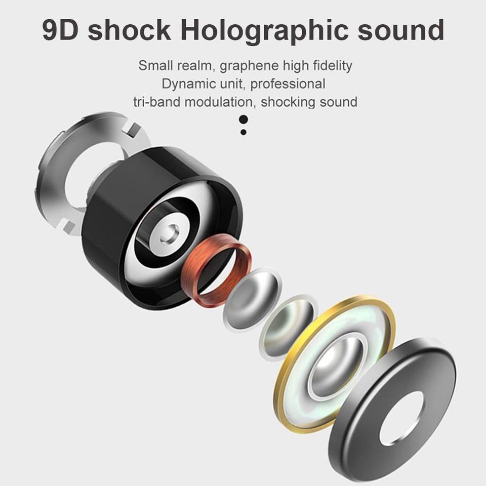 Tai Nghe Bluetooth 5.0 Không Dây  L21 Mini Có Hộp Sạc âm thanh cực hay