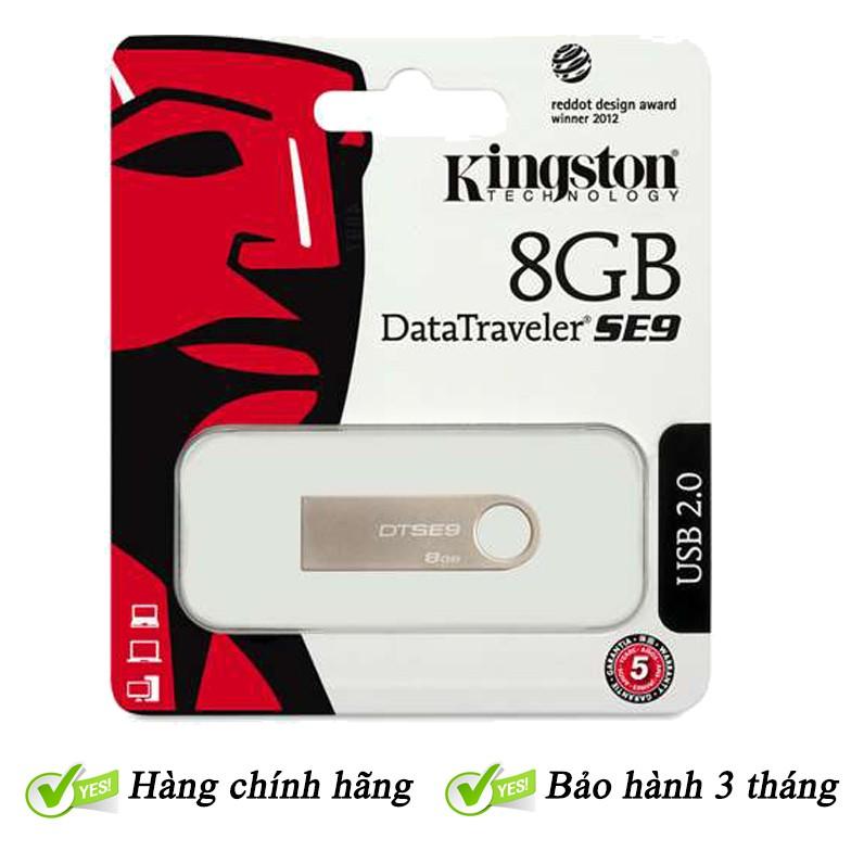 USB Kingston 8Gb 2.0 Giá chỉ 105.000₫