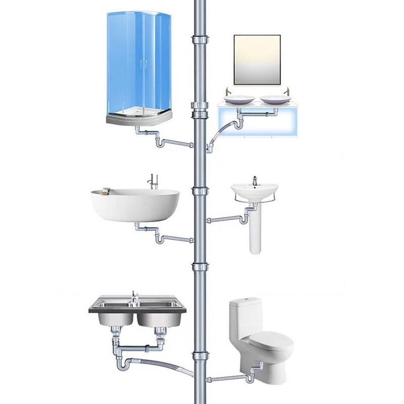 Hộp bột thông tắc ống cống diệt sạch vi khuẩn loại 300g PDA
