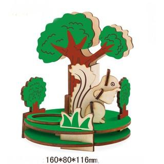 mô hình gỗ ANIMAL SERIES