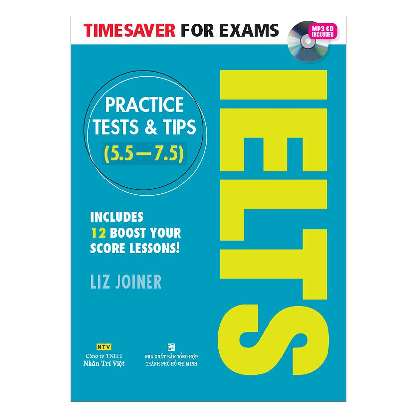 Sách - Timesaver For Exams - IELTS Practice Tests & Tips 5.5 - 7.5 (Kèm MP3)