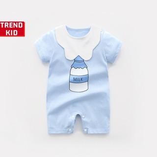 [Mã TREND20 giảm 15% đơn 99K] Body ngắn mùa hè từ 5 đến 13kg( Bình sữa xanh) Michley