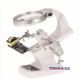 TM Microscope Station Stand Magnifier Helping USB Magnifying