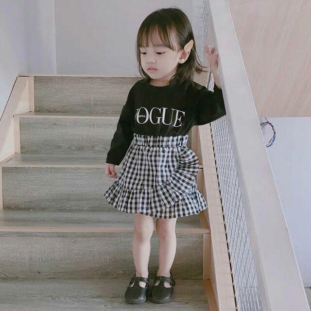 Váy liền cho bé gái ca