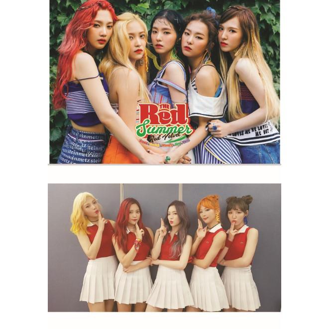 Poster khổ A5 nhóm nhạc Kpop RED VELVET full 10 ảnh (CÓ IN THEO YÊU CẦU)