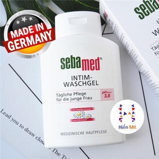 Bill Đức - Chai lớn x4 (200ml) Dung Dịch Vệ Sinh Phụ Nữ Sebamed Feminine Intimate Wash giảm khử mùi hôi phụ khoa thumbnail
