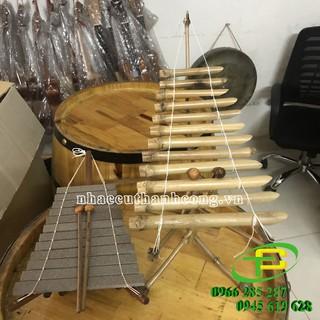 Bán đàn đá mini, đàn t-rưng mini, nhạc cụ trưng bày