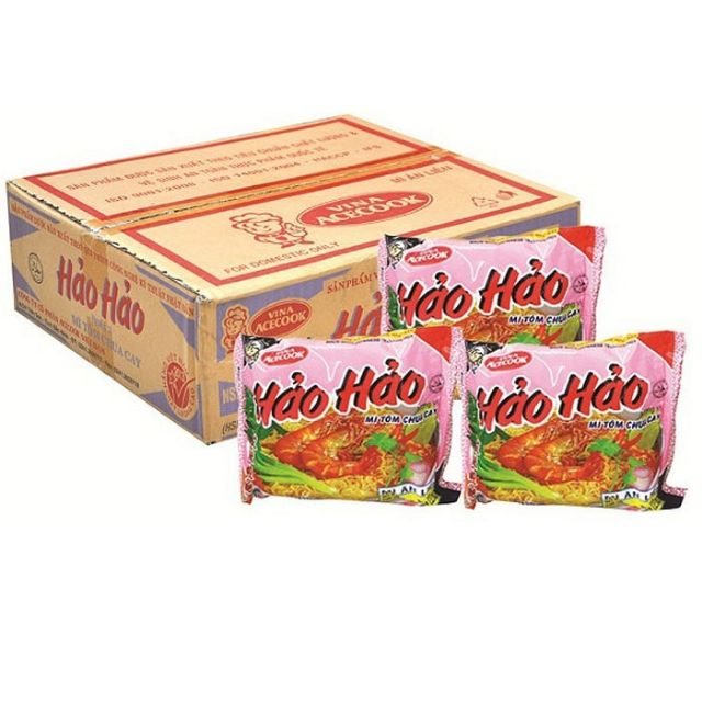 Mỳ ăn liền Hảo Hảo - vị chua cay - 1 gói