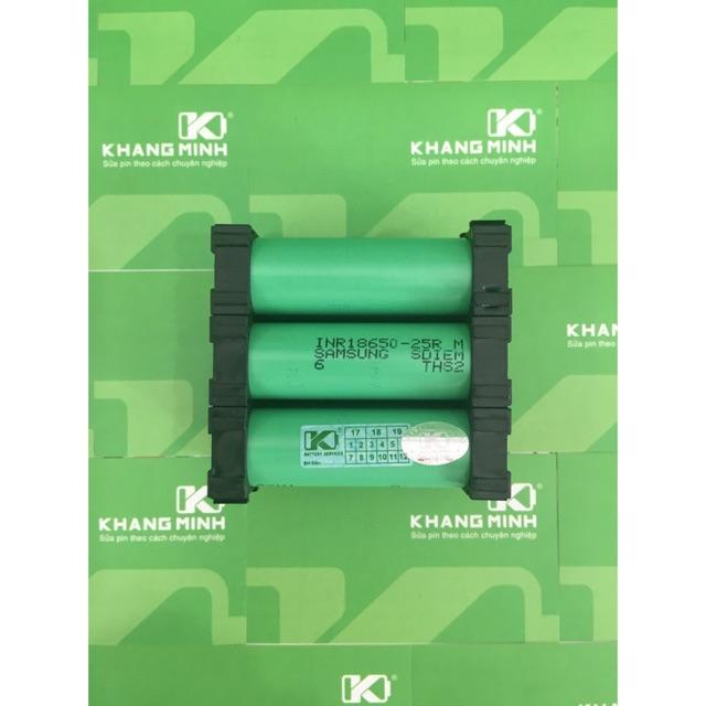 KM Pack pin Li-ion, Samsung 5000mAh - 40A, dùng cho máy khoan 9.6V-12V