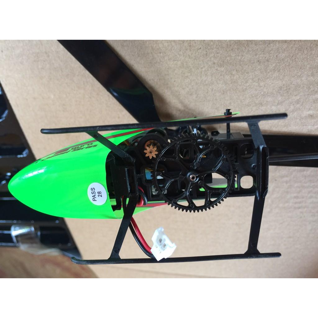 Máy Bay Trực Thăng WLtoys V911S 2.4G 4CH 6-Aixs Gyro Flybarless