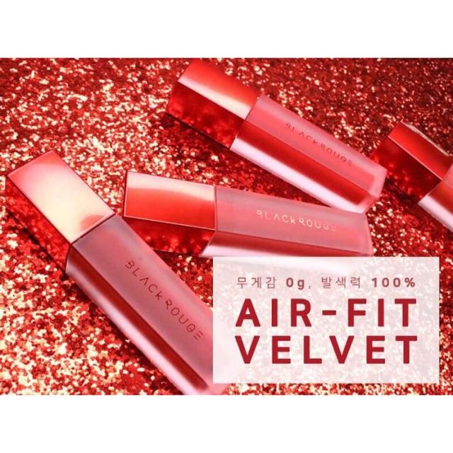 (Từ A1 đến A22 có A12) Son kem Black Rouge Air Fit Velvet Tint