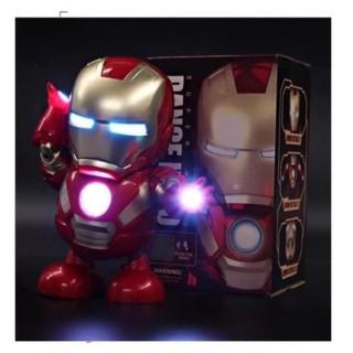 Đồ Chơi Robot Iron Man Nhảy Múa Theo Nhạc Cho Trẻ Em giá sỉ, giá bán buôn