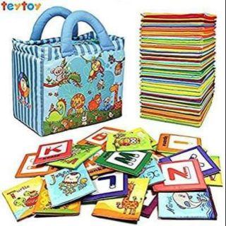 Đồ chơi flash card Teytoy Baby Toy Zoo cho bé vừa học vừa chơi.