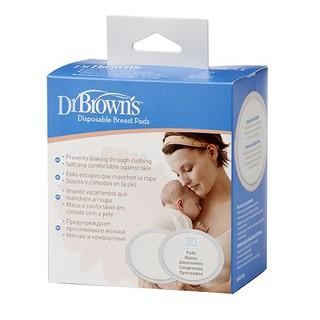 Miếng lót thấm sữa siêu thấm Dr. Brown s dùng 1 lần (30 miếng) thumbnail