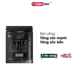BỘT TĂNG LỰC APPLIED NUTRITION ABE PRE WORKOUT SAMPLE 1 LẦN DÙNG
