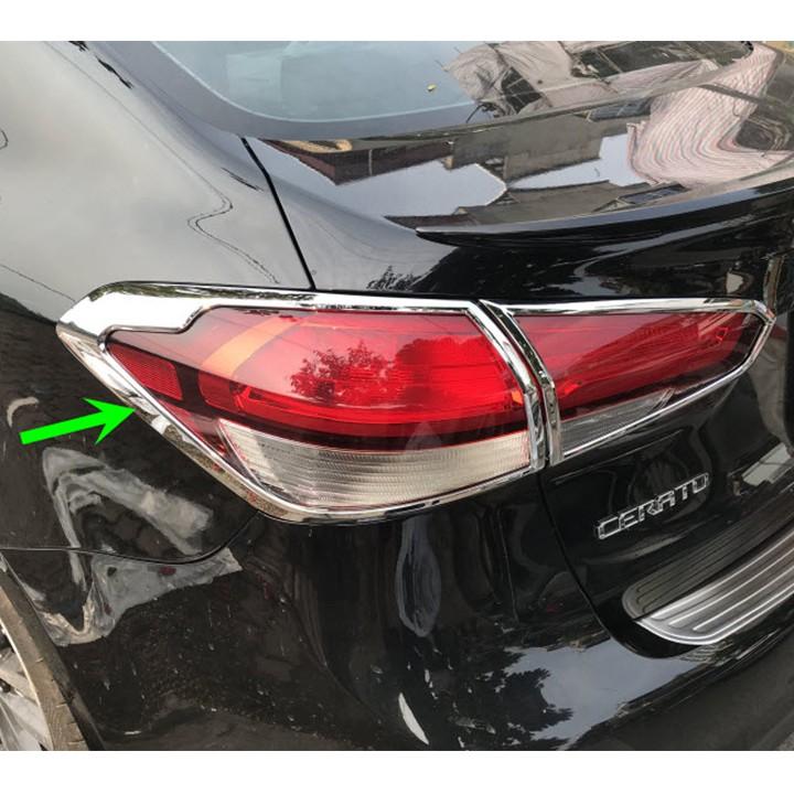 Ốp Viền Đèn Hậu Xe Kia Cerato 2016-2018