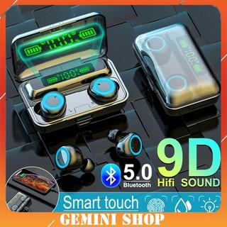 Tai nghe Bluetooth 5.0 True Wireless Cảm ứng không dây siêu bass kháng nước thể theo stereo F93