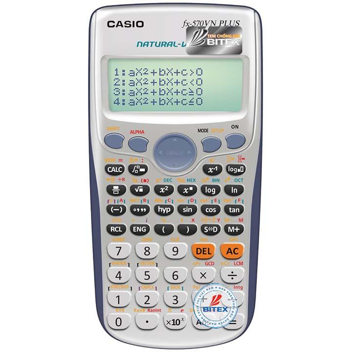 Máy tính Casio fx 570VN PLUS - 2591529 , 440275609 , 322_440275609 , 445000 , May-tinh-Casio-fx-570VN-PLUS-322_440275609 , shopee.vn , Máy tính Casio fx 570VN PLUS