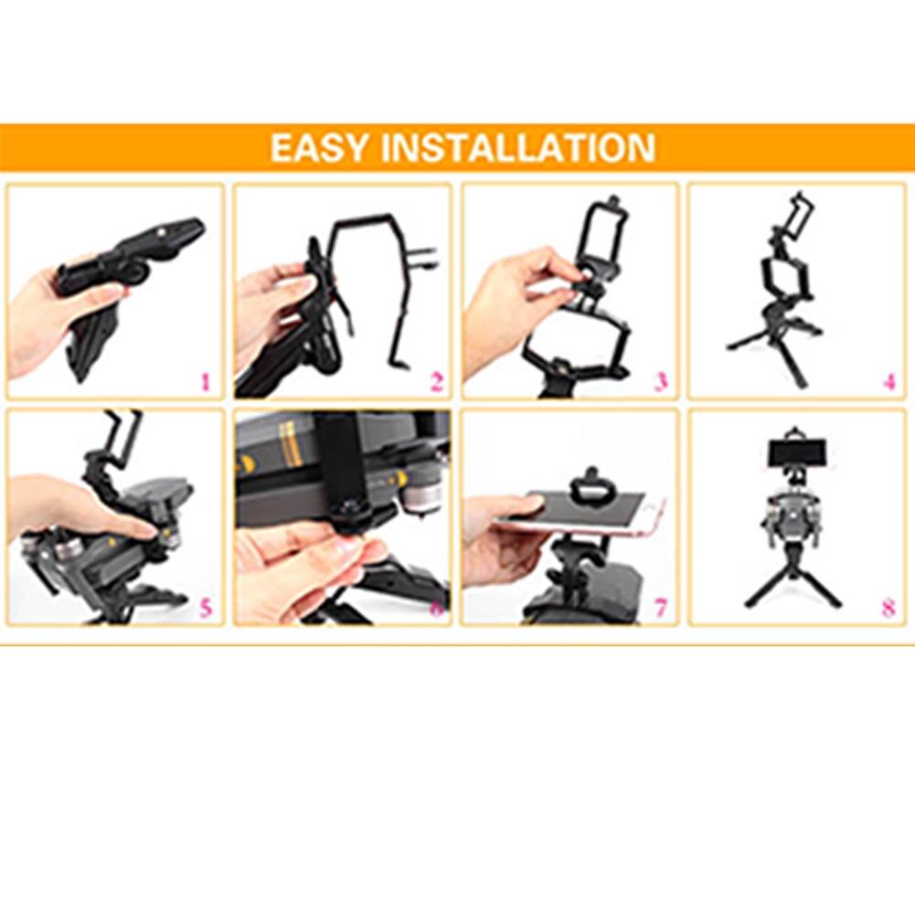 Durable Tripod Stabilizer Multifunctional Foldable Gimbal Bracket Portable Handheld