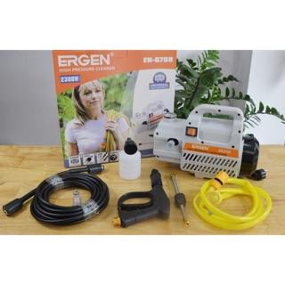 Máy rửa xe ERGEN 6708 mô tơ dây đồng 100%