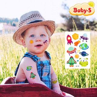 Hình xăm dán chống nước đa dạng chủ đều cho bé trai và bé gái thỏa thích sáng tạo cùng bạn bè Baby-S SST008 thumbnail
