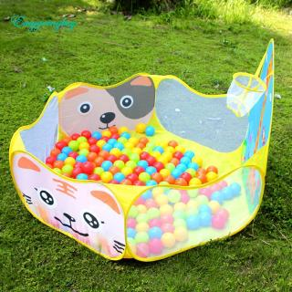 Toy ♡ Indoor Kids Game Play Toy Tent Outdoor Portable Ocean Ball Pit Pool