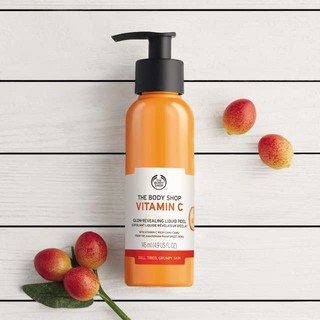 Tẩy da chết dạng kỳ The Body Shop Vitamin C glow-revealing liquid peel 145ml - 55063-2