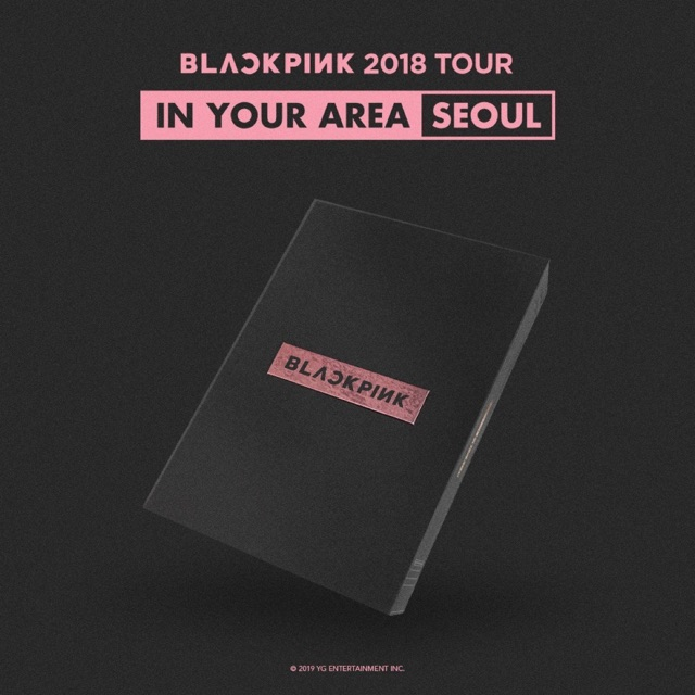 DVD Blackpink 2018 Tour In Your Area Seoul (Nguyên seal, có sẵn)