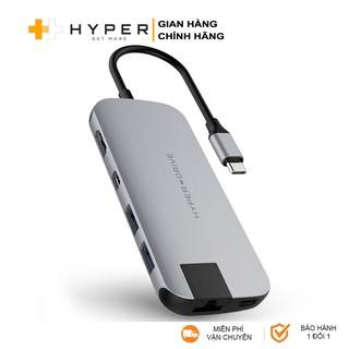Cổng chuyển HyperDrive Slim 8-in-1 USB-C HUB cho Macbook & Devices