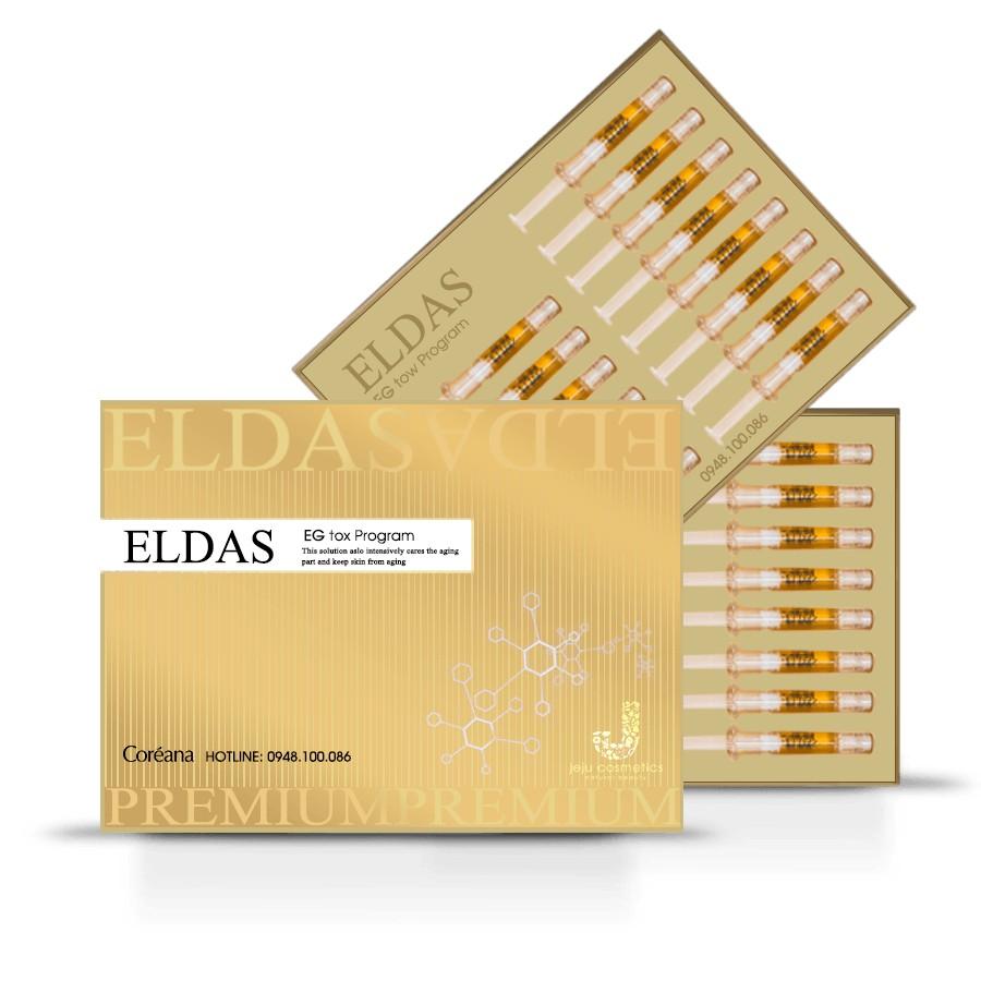 [Chính hãng] Hộp 30 ống Tế bào gốc Eldas EG Tox Program Coreana (phục hồi, tái tạo da, chống lão hóa - 10065347 , 1006757265 , 322_1006757265 , 1400000 , Chinh-hang-Hop-30-ong-Te-bao-goc-Eldas-EG-Tox-Program-Coreana-phuc-hoi-tai-tao-da-chong-lao-hoa-322_1006757265 , shopee.vn , [Chính hãng] Hộp 30 ống Tế bào gốc Eldas EG Tox Program Coreana (phục hồi,
